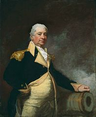 """Henry Knox,"" by the American artist Gilbert Stuart."